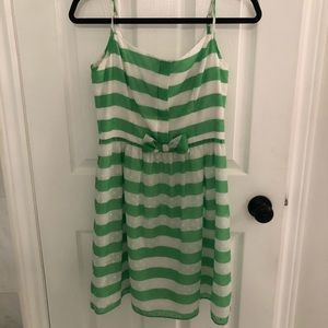 LILLY PULITZER Textured Striped Dress